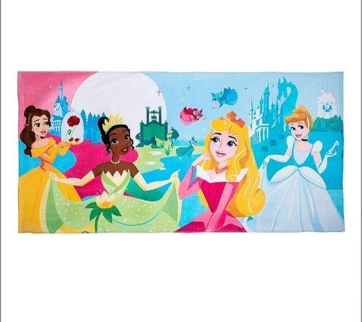 Новое пляжное, большое полотенце Дисней, Disney принцессы