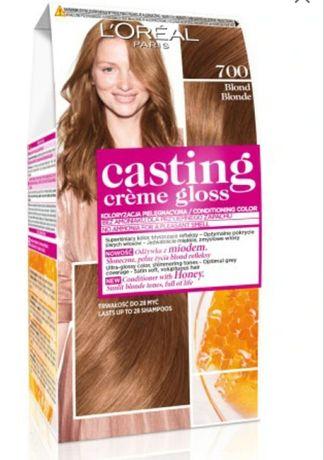Farba do włosów Loreal creme gloss 700 blonde