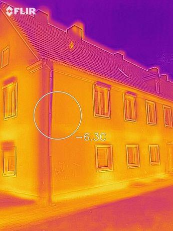 Termowizja, badanie kamerą termowizyjną, lokalizacja mostków cieplnych