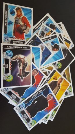 Vendo cartas STAR WARS