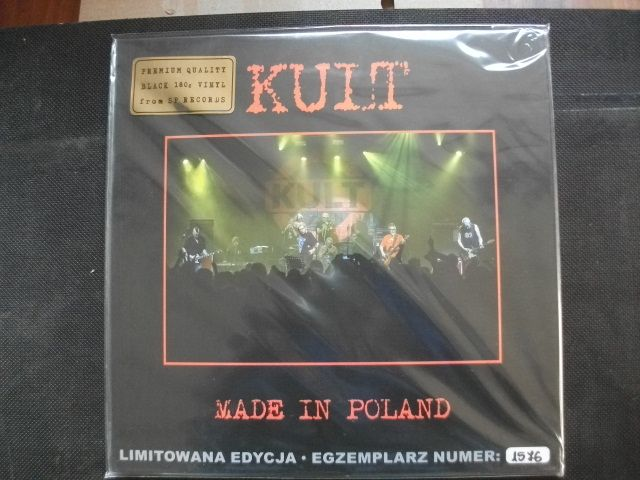 Kult Made in Poland winyl nowy- folia 180gram limit