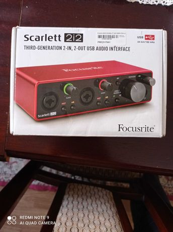 Focusrite scarlet 2i2 3rd generation nova
