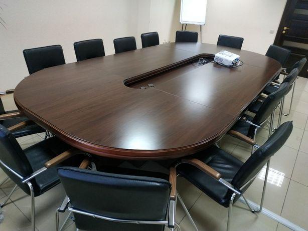 Стол для переговоров+стулья