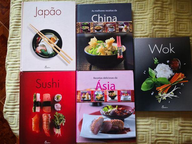 Livros cozinha asiática