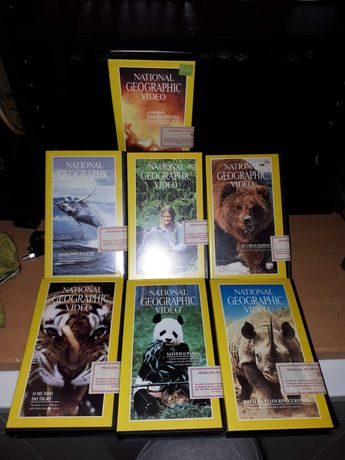 7 Videos VHS National Geographic