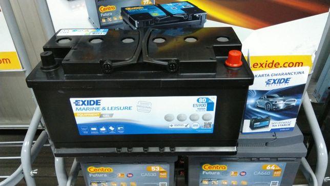 Akumulator Exide ES900 Gel 80Ah 12V Kamper Łódź Marine
