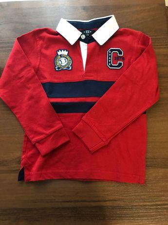 Bluza i koszula chłopięca rozmiar 104