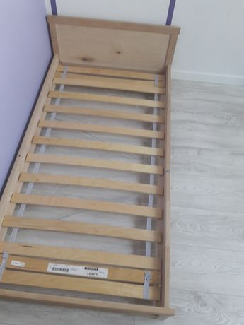 rama łóżka IKEA SNIGLAR 70x140 lity buk + stelaż