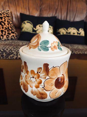 Cukiernica ceramiczna PRL