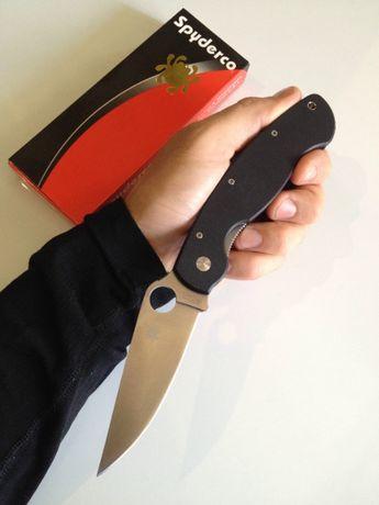 Отличный нож с агрессивным резом Military в коллекцию или на подарок