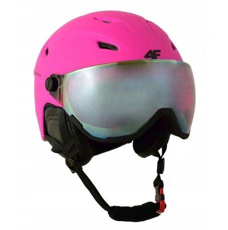 Damski kask narciarski 4F KSD001-55S L/LX