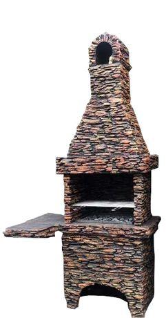 Piękny duży grill betonowy K14 nowość producent