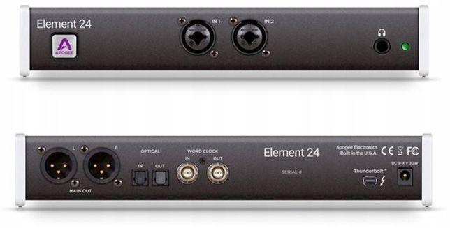 Apogee Element 24 + kabel Thunderbolt
