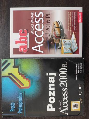 Poradniki książki Microsoft Access