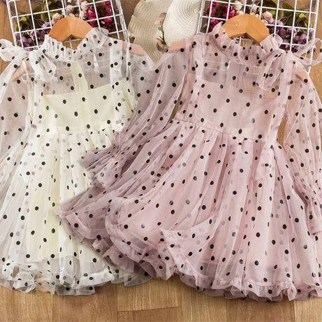 Нарядное платье на 1 2 3 4 5 лет года плаття девочку 74 80 86 90 92 98