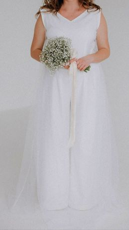 Свадебное платье, комбинезон, наряд на выпускной