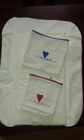 Podkład na przewijak + torba dla niemowlaka