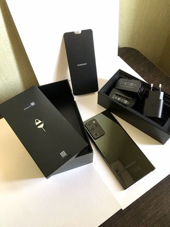 Samsung Note20 Ultra SM-N985F/DS Mystic Black 256GB
