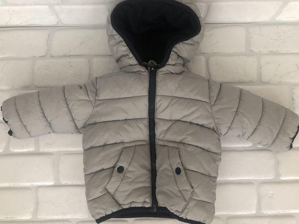 Куртка демисезонная Zara для мальчика , на рост 68, на 3-6 месяца