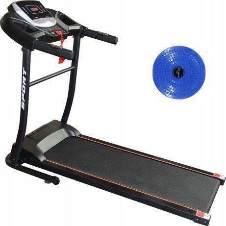 BIEŻNIA ELEKTRYCZNA Domowa MARK-Sport puls, składana 110 kg, 13km NOWA