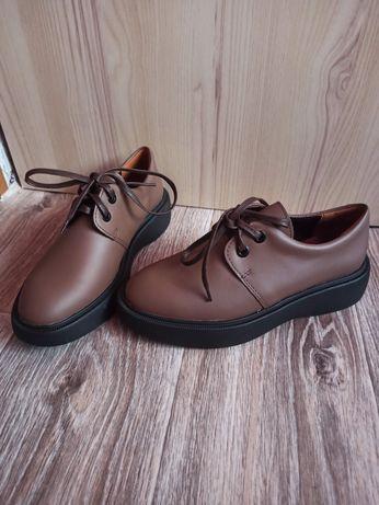 Кожаные туфли, размеры 36 и 38