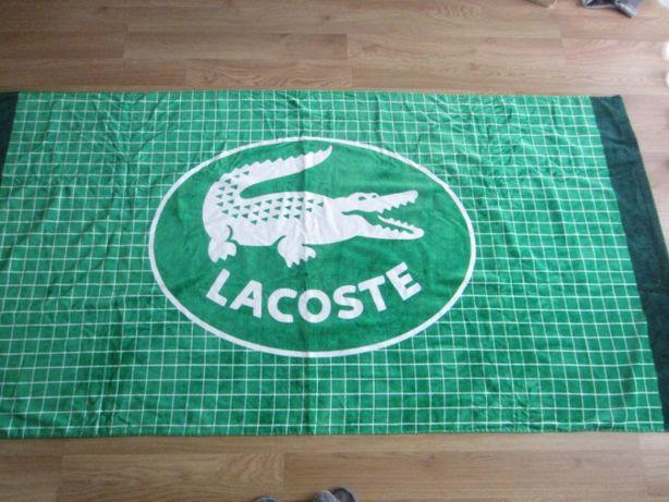 Lacoste - ręcznik plażowy z USA.