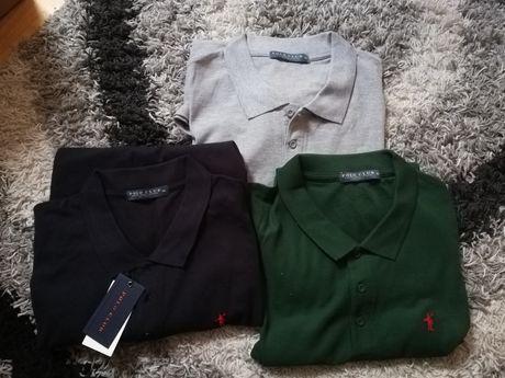 Zestaw 3 koszulek polo XXL Polo Clu