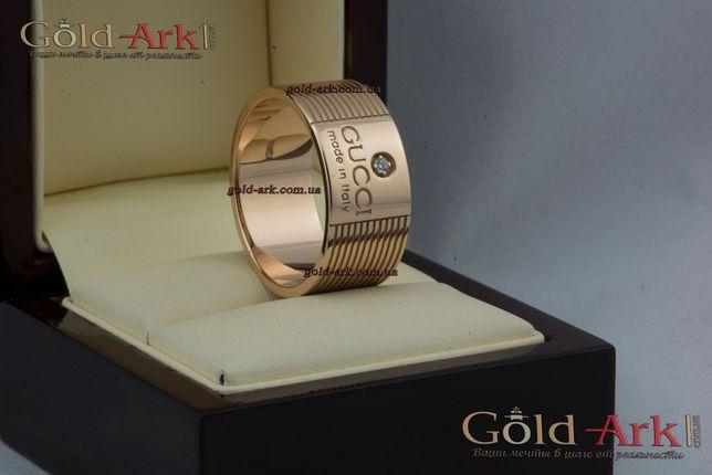 Золотое кольцо гуччи