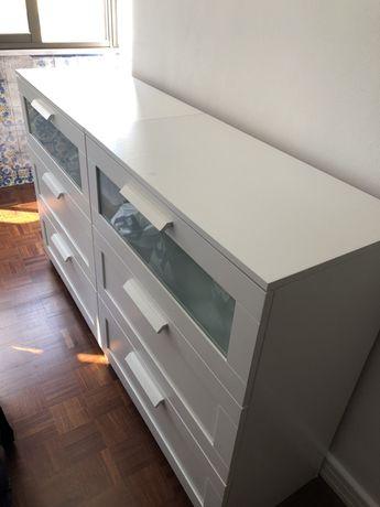 Três cómodas Ikea para venda
