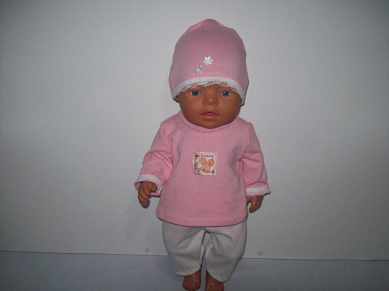 Komplet dla lalki 42-45 cm takiej jak baby born i podobne. Syrynia - image 1