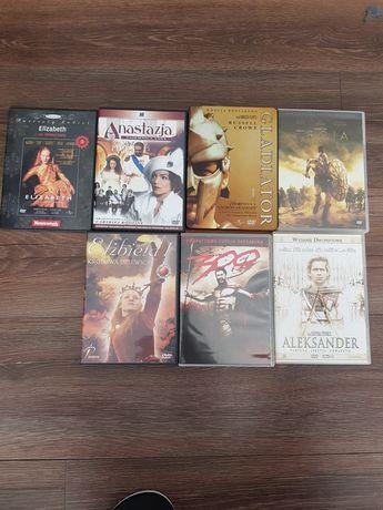 DVD - filmy historyczne (można kupić oddzielnie każdy)