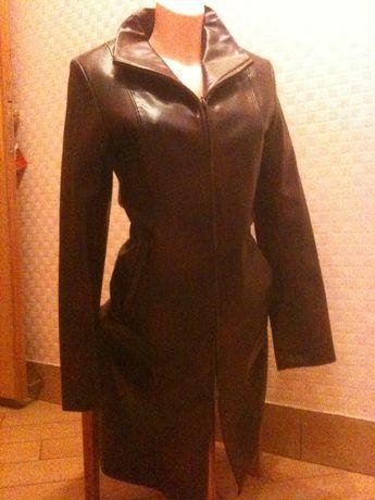 Плащ пальто новый кожзам размер 38, S в отличном состоянии