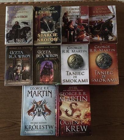 George R.R. Martin - Gra o tron, seria 10 książek