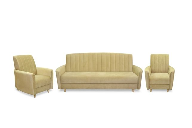 Zestaw COMA wersalka + fotele Producent
