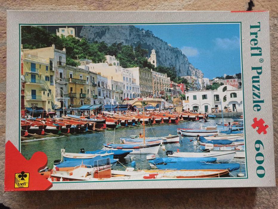 Puzzle Trefl Capri Italy 600 el Zamość - image 1