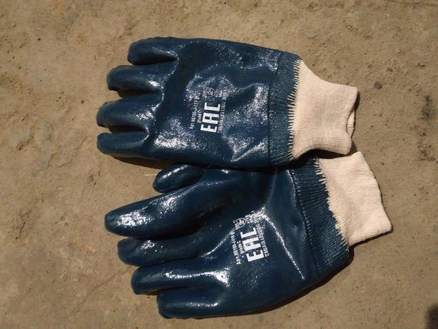 Рукавиці робочі, рукавицы рабочие нітрилові
