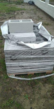 Bloczki ogrodzeniowe Joniec Roma Horizon biały bh20
