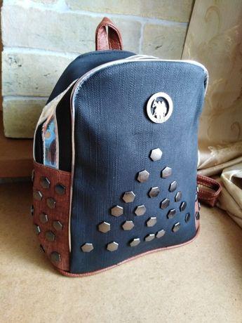 Новый стильный рюкзак для девочки, можно в школу