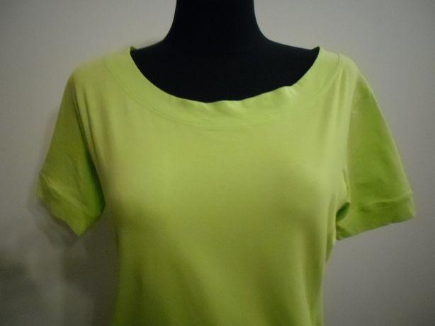 Nowa bluzka bawełna pistacja one size do 42