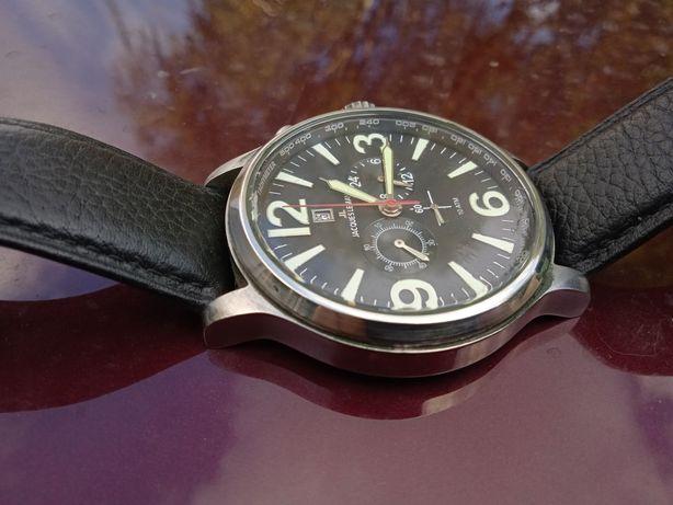 Часы Jacques lemans 1-1258 Cuero Negro