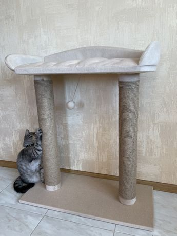 Лежанка и Когтеточка для кота