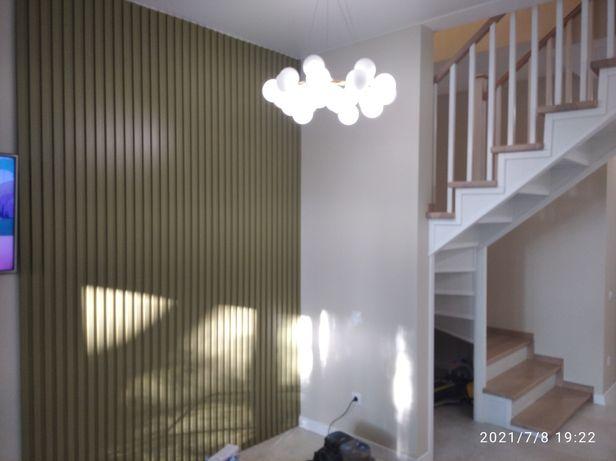 Изделия из дерева.Под заказ.Двери, лестницы, кровати, панели рейки 3д