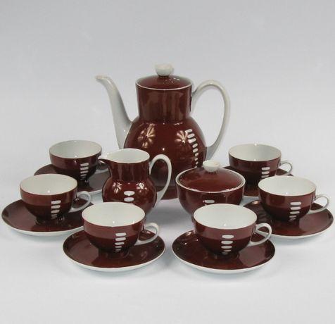 Serwis do kawy Anna, porcelana Ćmielów - pikasiak
