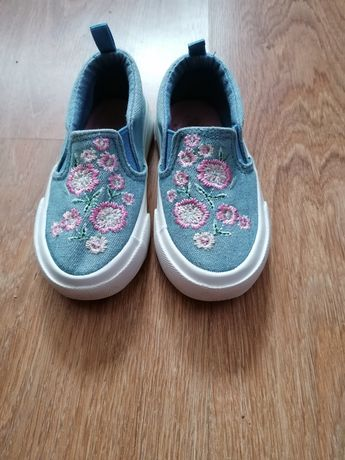 Buty dziewczęce slip on nelli blu 21