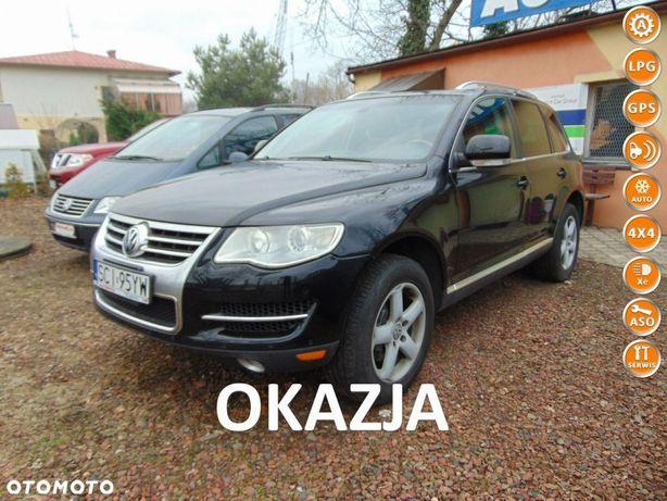 Volkswagen Touareg FULL-MAX-4,2 V8 Benzyna 350 PS-LIFT-4x4-NAVI-Klima-Skóra-Serwis-OKAZJA