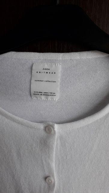 Bolerko-sweterek na komunię zara