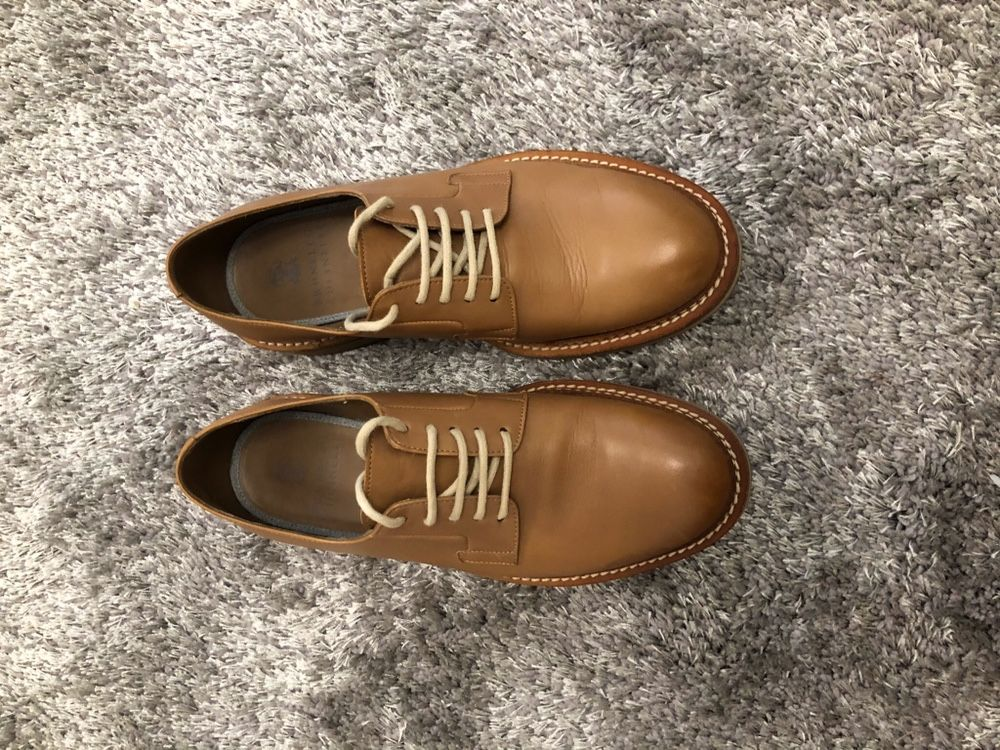 Brunello Cucinelli мужские туфли. Оригинал! 40р. Торг
