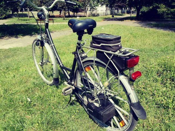 Rower z silnikiem spalinowym Schasch