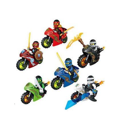 Nowy zestaw Ninja na motocyklach w pełni kompatybilne z klockami lego