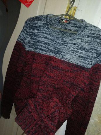 Мужской свитер, шерсть